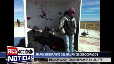 Photo of Redacción Noticias |  DESOCUPADOS TOMAN PLANTA LH3 DE YPF – LAS HERAS SANTA CRUZ