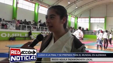 Photo of Redacción Noticias |  ALEMANIA 2019: ROCIO AGUILA SE PREPARA PARA EL MUNDIAL – LAS HERAS SANTA CRUZ