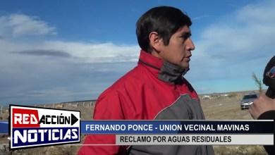 Photo of Redacción Noticias |  FERNANDO PONCE – AGUAS RESIDUALES EN BARRIO MALVINAS – LAS HERAS SANTA CRUZ
