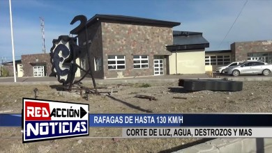 Photo of Redacción Noticias |  VIENTOS DE MAS DE 130KM/ – LAS HERAS SANTA CRUZ
