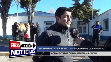 Photo of Redacción Noticias |  LISANDRO DE LA TORRE SEC. DE SEGURIDAD – LAS HERAS SANTA CRUZ