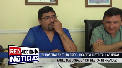 Photo of Redacción Noticias |  PABLO MALDONADO Y DR  HERNANDEZ – LAS HERAS SANTA CRUZ