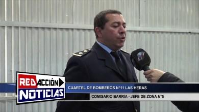 Photo of Redacción Noticias |  COMISARIO BARRIA JEFE DE ZONA – BOMBEROS – LAS HERAS SANTA CRUZ