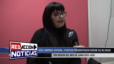 Photo of Redacción Noticias |  EDIL ANDREA YAPURA JUNIO 2019 – LAS HERAS SANTA CRUZ