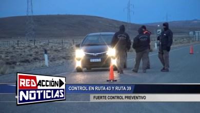 Photo of Redacción Noticias |  CONTROL PREVENTIVO ANTIDROGAS – LAS HERAS SANTA CRUZ
