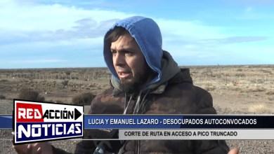 Photo of Redacción Noticias |  CORTE DE RUTA POR AUTOCONVOCADOS EN ACCESO A PICO TRUNCADO – LAS HERAS SANTA CRUZ