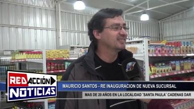 Photo of Redacción Noticias |  SANTA PAULA CADENAS DAR – RE INAUGURACION DE NUEVO LOCAL – LAS HERAS SANTA CRUZ
