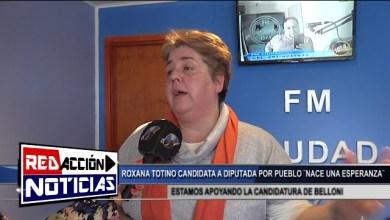 Photo of Redacción Noticias |  CANDIDATA A DIPUTADA POR PUEBLO ROXANNA TOTINO – LAS HERAS SANTA CRUZ