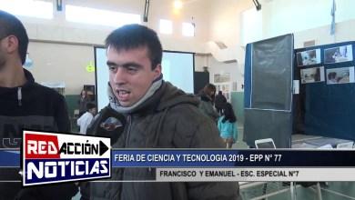 Photo of Redacción Noticias |  ESC. ESPECIAL 7 – FERIA DE CIENCIA Y TECNOLOGICA 2019 – LAS HERAS SANTA CRUZ