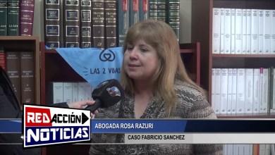 Photo of Redacción Noticias |  ROSA RAZURI ABOGADA – CASO FABRICIO SANCHEZ – LAS HERAS SANTA CRUZ