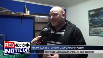 Photo of Redacción Noticias |  HERNAN ELORRIETA- CANDIDATO A DIPUTADO POR EL PUEBLO – LAS HERAS SANTA CRUZ