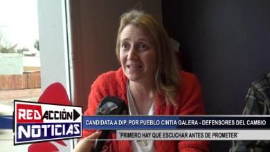 Photo of Redacción Noticias    CINTIA GALERA CADIDATA A DIP. POR PUEBLO – LAS HERAS SANTA CRUZ
