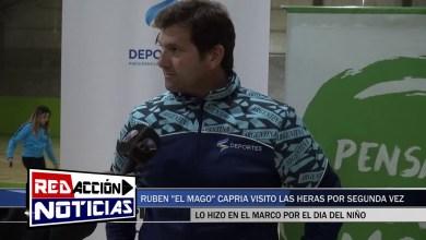 Photo of Redacción Noticias |  RUBÉN EL MAGO CAPRIA POR SEGUNDA VEZ EN LAS HERAS – SANTA CRUZ