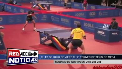 Photo of Redacción Noticias |  ESTE VIERNES ARRANCA EL TORNEO COMERCIAL DE TENIS DE MESA – LAS HERAS SANTA CRUZ