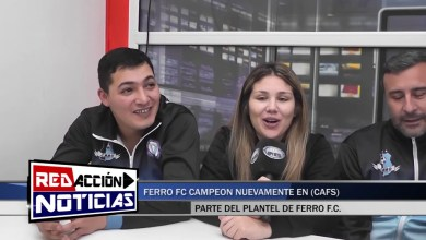 Photo of Redacción Noticias |  FERRO CAMPEON EN FUTSAL (CAFS) LAS HERAS SANTA CRUZ