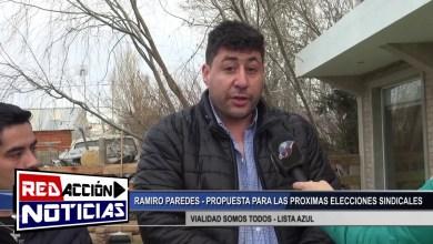Photo of Redacción Noticias |  RAMIRO PAREDES – ¨VIALIDAD SOMOS TODOS¨ LISTA AZUL – LAS HERAS SANTA CRUZ