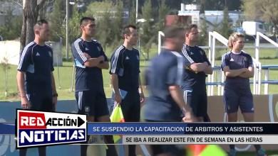 Photo of Redacción Noticias    SE SUSPENDIÓ LA CAPACITACIÓN DE ÁRBITROS – LAS HERAS SANTA CRUZ
