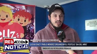 Photo of Redacción Noticias |  ADELANTO DE LO QUE SERA EL FESTEJO DEL DIA DEL NIÑO – LAS HERAS SANTA CRUZ