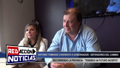 Photo of Redacción Noticias |  CANDIDATO A GOBERNADOR ANTONIO TOMASSO – LAS HERAS SANTA CRUZ