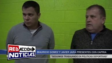 Photo of Redacción Noticias |  POLÍTICAS DEPORTIVAS –  MAURICIO GOMEZ Y JAVIER JARA – LAS HERAS SANTA CRUZ
