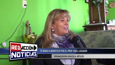 Photo of Redacción Noticias |  TE BINGO SOLIDARIO POR EL PROFESOR RAUL LEUQUEN – LAS HERAS SANTA CRUZ