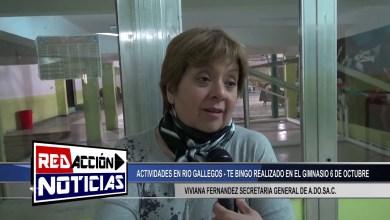 Photo of Redacción Noticias |  VIVIANA FERNANDEZ SECRETARIA GENERAL DE A.DO.SA.C – TE BINGO LAS HERAS SANTA CRUZ