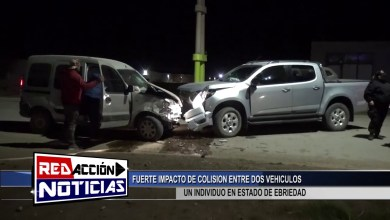 Photo of Redacción Noticias |  LAS HERAS SANTA CRUZ – FUERTE COLISION ENTRE DOS VEHICULOS