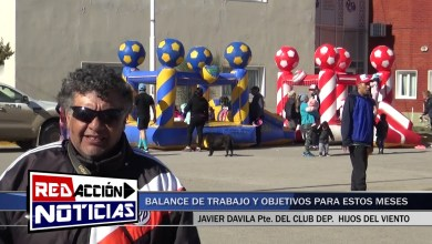 Photo of Redacción Noticias |  PROXIMOS OBJETIVOS DEL CLUB DEPORTIVO HIJOS DEL VIENTO – LAS HERAS SANTA CRUZ