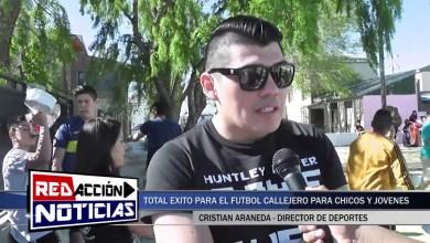 Photo of Redacción Noticias |  JORNADAS DE FÚTBOL CALLEJERO EN LAS HERAS SANTA CRUZ