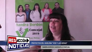 Photo of Redacción Noticias |  SANDRA BORDON CANDIDATA A CONCEJAL – LAS HERAS SANTA CRUZ