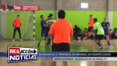 Photo of Redacción Noticias |  PROVINCIAL DE HANDBALL – JAVIER HOOPMANN – LAS HERAS SANTA CRUZ