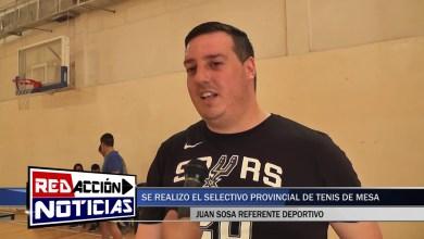 Photo of Redacción Noticias |  SE REALIZO UN SELECTIVO TENIS DE MESA PROVINCIAL EN LAS HERAS SANTA CRUZ