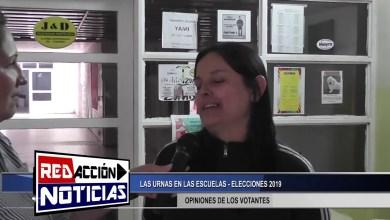 Photo of Redacción Noticias |  MESAS EN LAS ESCUELAS – ELECCIONES 2019 LAS HERAS SANTA CRUZ