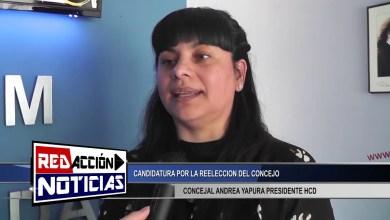 Photo of Redacción Noticias |  ANDREA YAPURA POR LA REELECCION DEL CONCEJO – LAS HERAS SANTA CRUZ