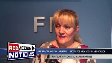 Photo of Redacción Noticias |  CARINA MARTINEZ CANDIDATA A CONCEJAL LAS HERAS SANTA CRUZ