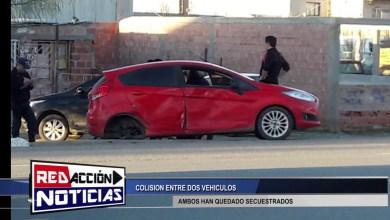 Photo of Redacción Noticias |  COLISION ENTRE DOS VEHICULOS – AMBOS AUTOS HAN QUEDADO SECUESTRADOS LAS HERAS SANTA CRUZ