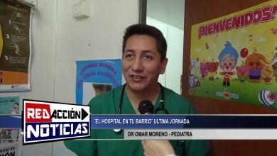 Photo of Redacción Noticias |  EL HOSPITAL EN TU BARRIO – PEDIATRA DR O. MORENO – LAS HERAS SATA CRUZ