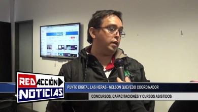 Photo of Redacción Noticias |  NELSON QUEVEDO COORDINADOR DE PUNTO DIGITAL – LAS HERAS SANTA CRUZ