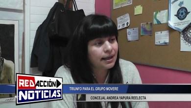 Photo of Redacción Noticias |  CONCEJAL ANDREA YAPURA – TRIUNFO ELECTORAL DEL GRUPO MOVERE –  LAS HERAS SANTA CRUZ