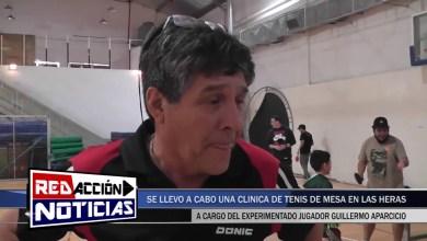 Photo of Redacción Noticias |  GUILLERMO APARICIO BRINDO UNA CLINICA DE TENIS DE MESA EN LAS HERAS – SANTA CRUZ