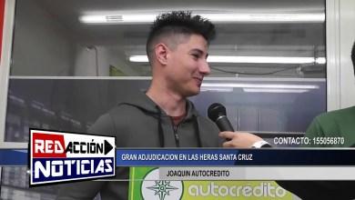 Photo of Redacción Noticias |  JOAQUIN – AUTOCREDITO  – GRAN ADJUDICACION EN LAS HERAS SANTA CRUZ