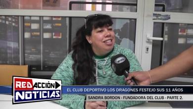 Photo of Redacción Noticias |  11 AÑOS DEL CLUB LOS DRAGONES   SANDRA BORDON   PARTE 2