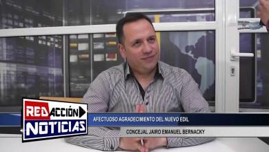 Photo of Redacción Noticias |  JAIRO BERNACKY NUEVO CONCEJAL EN EL HCD – LAS HERAS SANTA CRUZ
