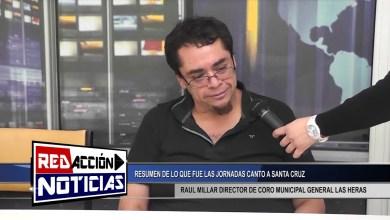 Photo of Redacción Noticias |  RAUL MILLAR DIRECTOR DE CORO GENERAL MUNICIPAL LAS HERAS SANTA CRUZ