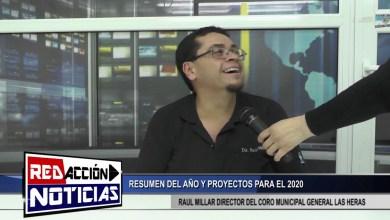 Photo of Redacción Noticias    RAUL MILLAR – RESUMEN DEL AÑO Y PROYECTOS PARA EL 2020 – LAS HERAS SANTA CRUZ