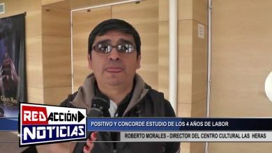 Photo of Redacción Noticias |  ROBERTO MORALES – DIRECTOR DEL CENTRO CULTURAL LAS HERAS SANTA CRUZ