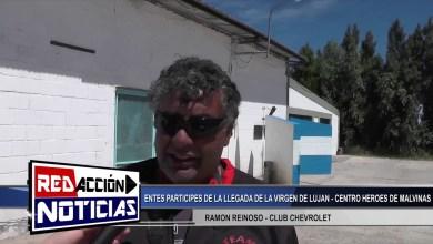 Photo of Redacción Noticias    RICARDO SANZ REFERENTE DE ALACAS-RAMON REINOSO CLUB CHEVROLET LLEGADA DE VIRGEN LUJAN-LAS HERAS