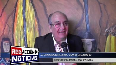 Photo of Redacción Noticias |  IVAN SEPULVEDA DIRECTOR DE LA TERMINAL – INAUGURACION DE MURAL EN LA TERMINAL- LAS HERAS SANTA CRUZ
