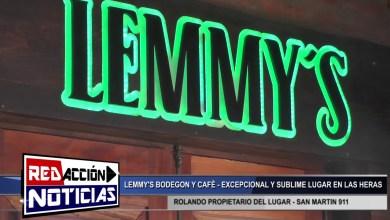 Photo of Redacción Noticias |  ROLANDO PROPIETARIO DE LEMMY'S BODEGON Y CAFE – LAS HERAS SANTA CRUZ