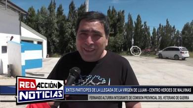 Photo of Redacción Noticias |  EDILIO FLORES EXCOMBATIENTE MALVINAS-FERNANDO ALTURRIA -LLEGADA VIRGEN DE LUJAN LAS HERAS SANTA CRUZ